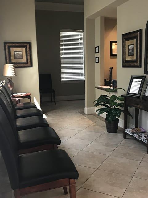 Essential Endodontics Colleyville - reception