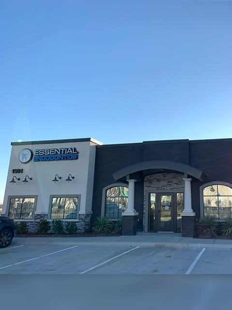 Essential Endodontics Little Elm - front of office
