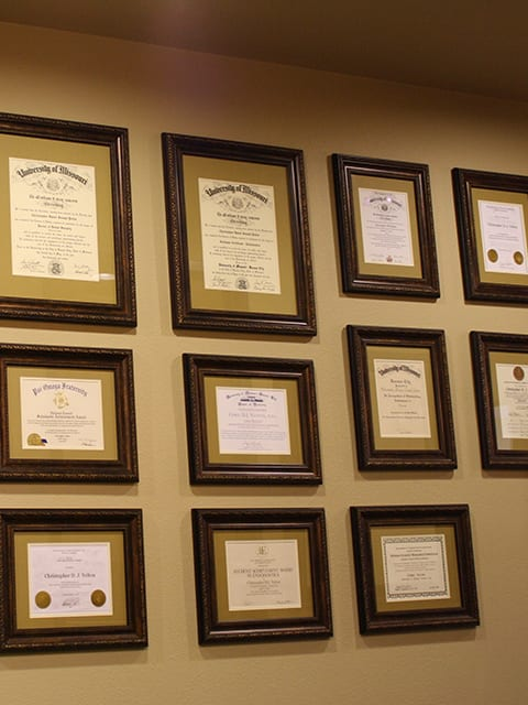 Essential Endodontics Fort Worth - certificates awards and accolades