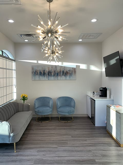 Essential Endodontics Little Elm - waiting room