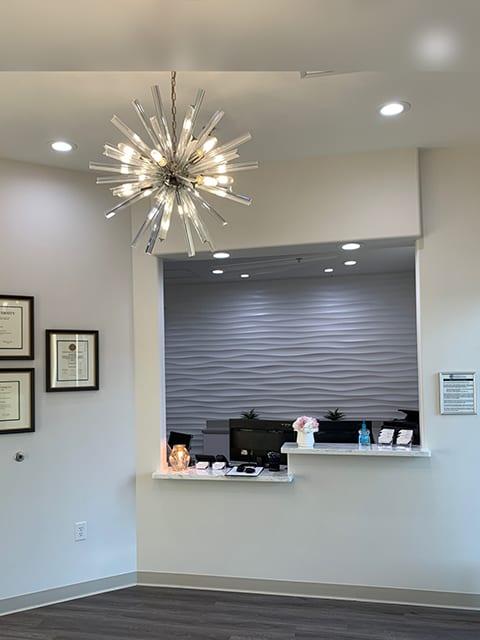 Essential Endodontics Little Elm - reception area